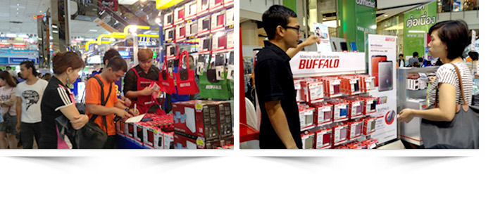 BUFFALO: Sales Promoter