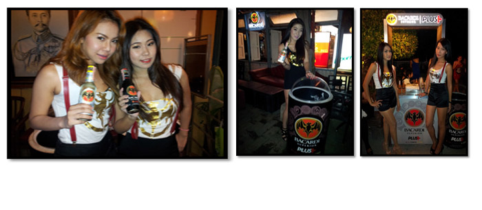 Bacardi: Promotion Girls